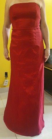 Vestido de Festa TVZ Vermelho