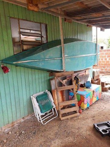 Barco de fibra 3.40 MT + motor 3.300 HP - Foto 2