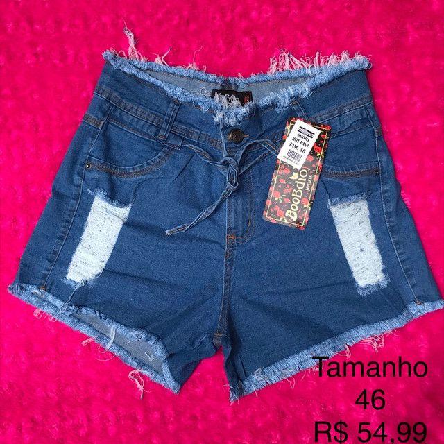 Shortinhos jeans 42 ao 46 - Foto 4