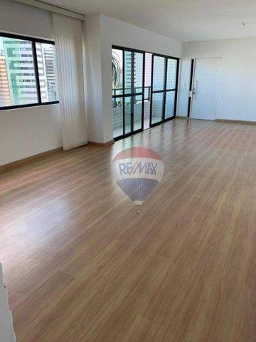 Apartamento com 3 dormitórios à venda, 130 m² por R$ 970.000,00 - Aflitos - Recife/PE - Foto 3