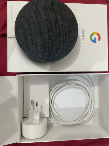 Caixa De Som Inteligente Google Nest Mini 2° geracão - Foto 2