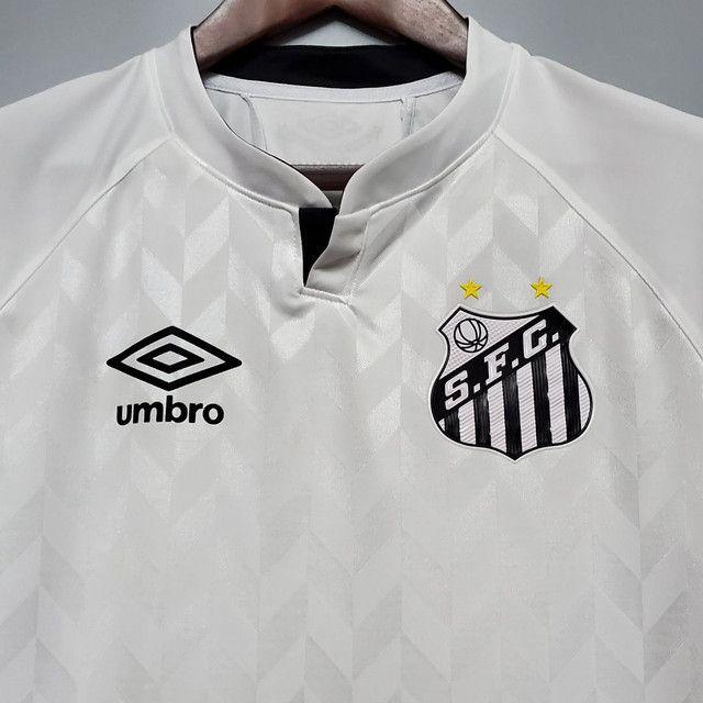 Camisa do Santos branca - Foto 2