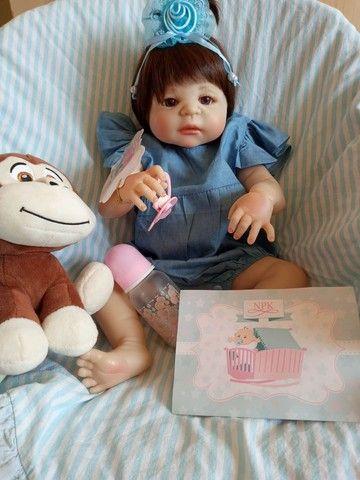 Lindas bonecas tipo reborm realista NOVAS  - Foto 2
