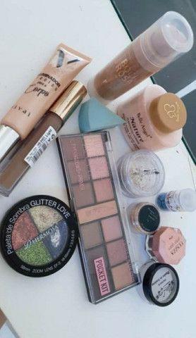 Kit maquiagem e uma chapinha  - Foto 3