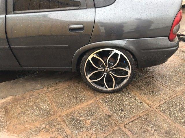 Vendo roda 18 com pneus novos 215/35/18