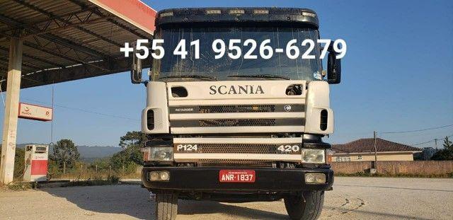 Scania P420 traçada ano 2006 - Foto 6