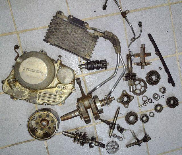 Várias peças do motor XR300 - Foto 2