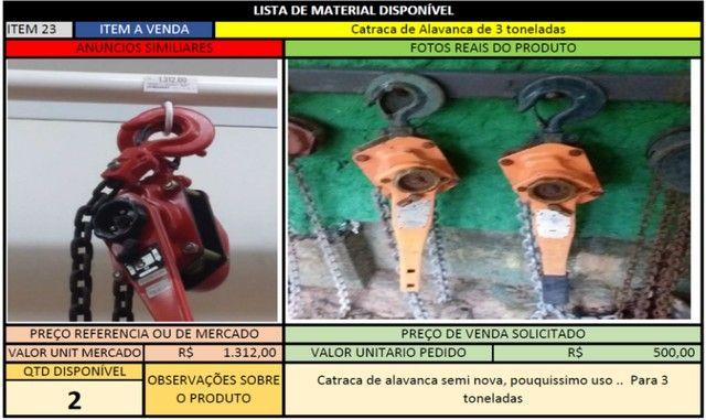 Catraca de Alavanca 3 Toneladas - 2 unidades disponiveis - Foto 3