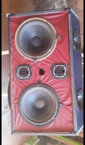 Caixa de som para com módulo A 500 para carro - Foto 2