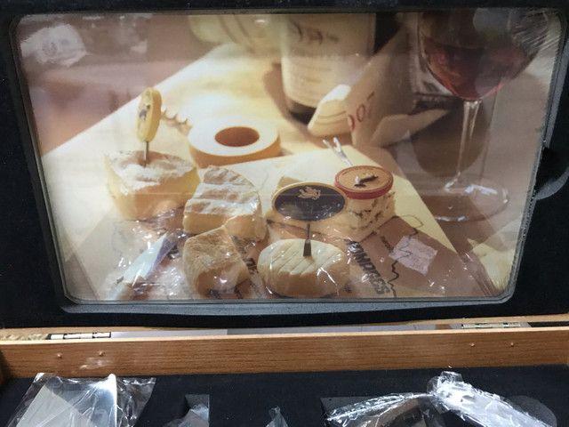 Tábua para queijos e vinho  - Foto 2