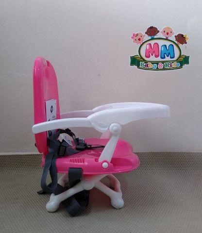 Cadeirinha de Alimentação Portátil Feminina da Tutti Baby - Nova - Foto 4