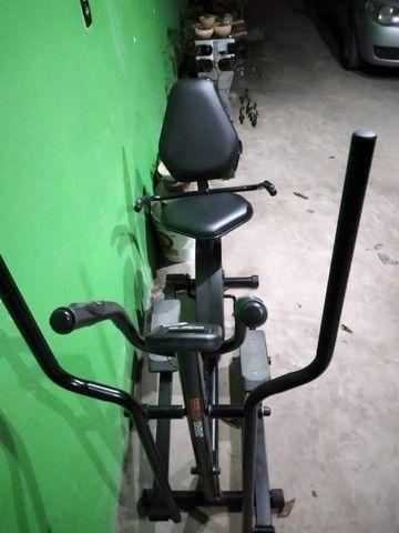 Vendo Bicicleta Ergométrica Horizontal e Elíptico. - Foto 2