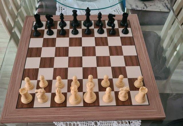 Peças de xadrez Staunton lindas - Foto 6