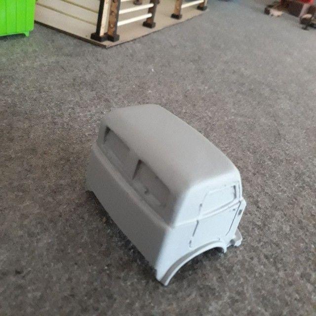 Cabines em resina miniatura escala 1/32 fnm - Foto 3