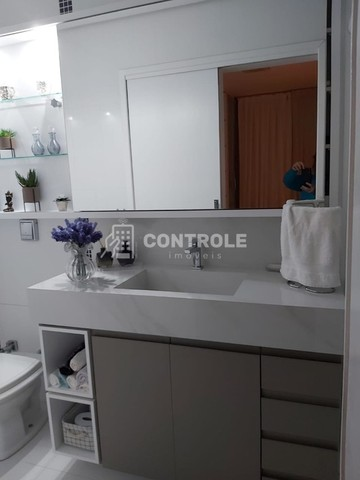 (RR) Apartamento 03 dormitórios, sendo 01 suite, no bairro Balneário, Florianópolis. - Foto 16