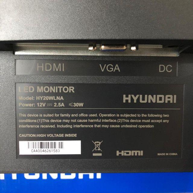 Monitor Hyundai Led 19.5(49.5cm) - Foto 5