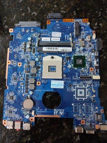 Placa mãe Sony modelo MBX-247 (Não Liga) - Foto 2