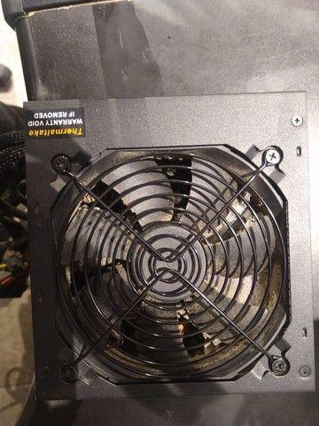 Fonte thermaltake smart series 500w 80plus white (usada)  - Foto 4