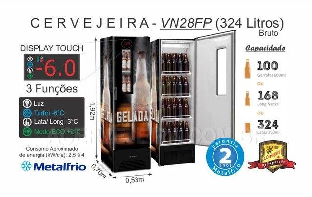 Cervejeira VN28FP Slin 4 caixas