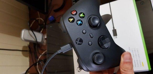 Controle Xbox One S/ Pc - Com USB - Foto 3