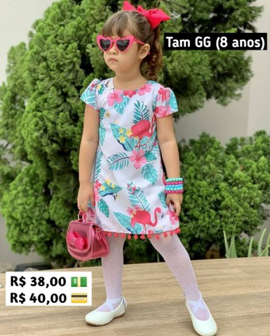 Vestidos 2 a 8 anos - Foto 4