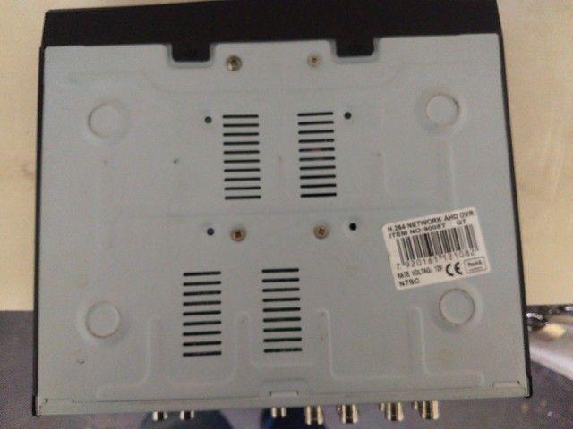 Vendo um DVR EJCF com HD de 1 terá usado 350 - Foto 3