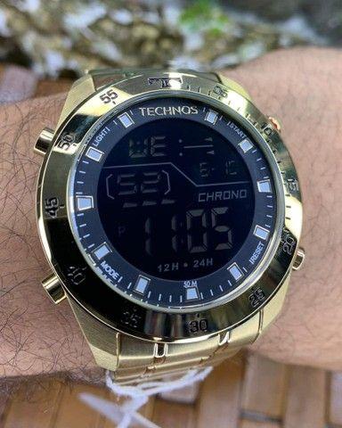 Relógios Masculinos Tecnhos originais - Foto 3