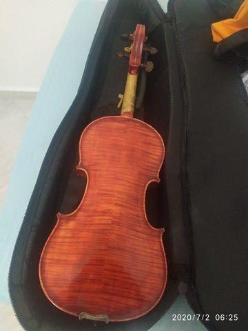 Violino artesanal na caixa - Foto 3