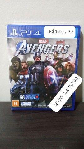 Avengers Ps4 Novo Lacrado