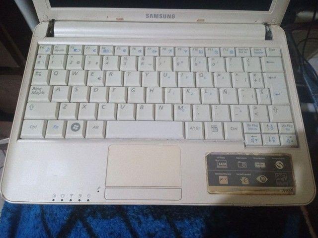 Netbook Samsung n130 retirada de peças - Foto 3