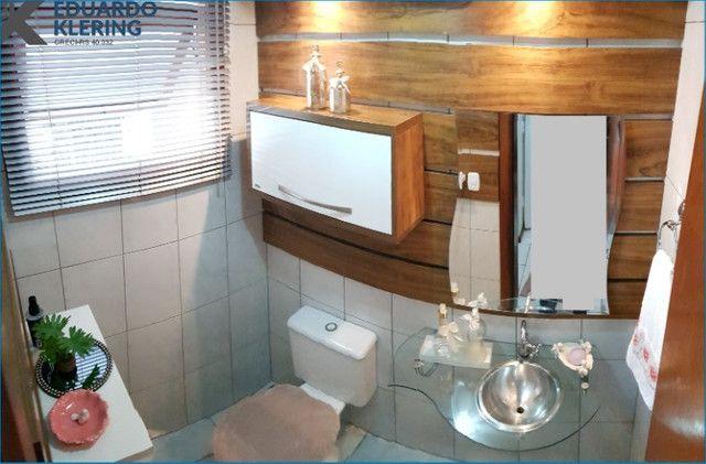 Casa em Condomínio, 3 dormitórios, suíte, 2 banheiros e lavabo, 127,40m², Sapucaia - Foto 6