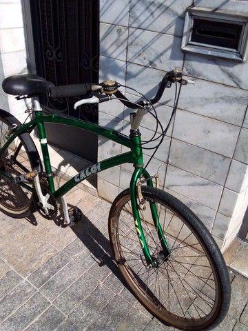 Bicicleta aro 26 18 marchas de alumínio  - Foto 4