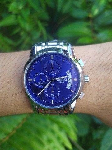 Relógio Masculino NiBOSi Luxo - Foto 3