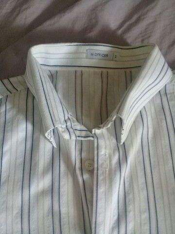 Camisas M.Officer homem - Foto 2