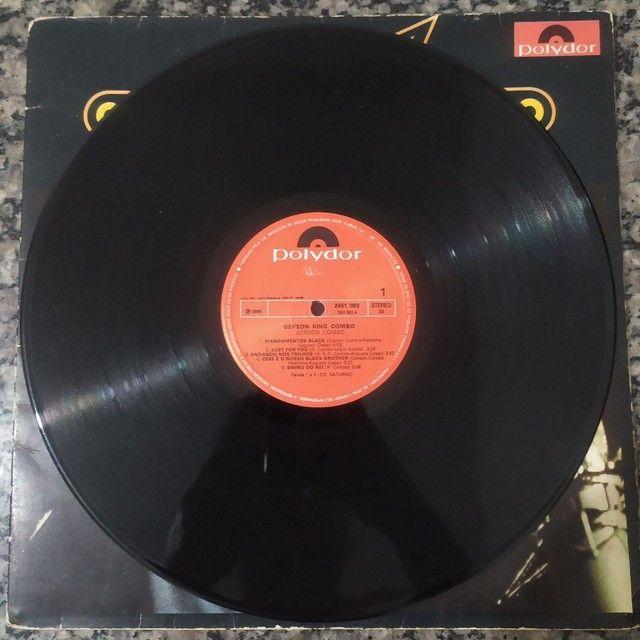 Vendo disco LP GERSON KING COMBO RARIDADE - Foto 5
