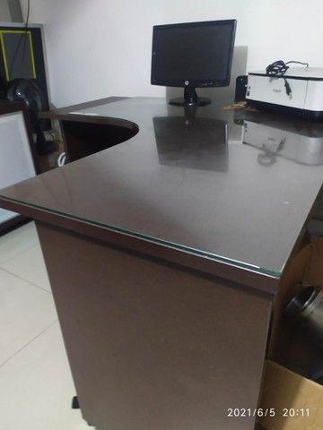 Mesa de canto para escritório - Foto 2