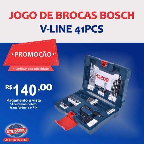 Jogo de Brocas V-Line 41 peças - Bosch ? Entrega grátis