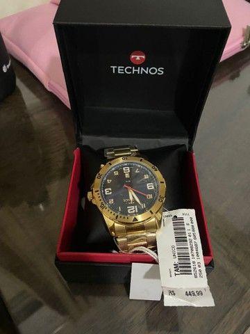 relógio techinos original NOVO - Foto 3