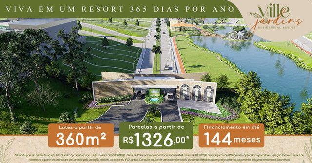 Lotes 360m2, Ville Jardins Residencial Resort, Ipatinga. - Foto 7