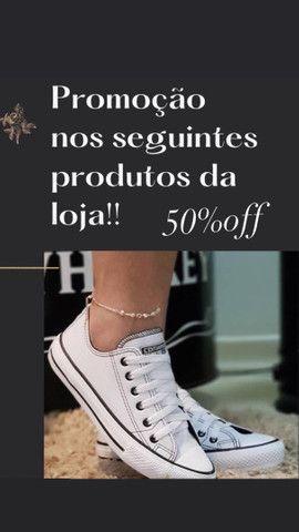 Calçados de promoção