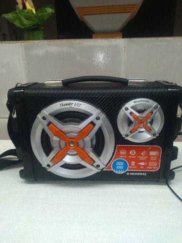 Som mondial portátil bateria recarregavel - Foto 3