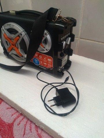 Som mondial portátil bateria recarregavel - Foto 2