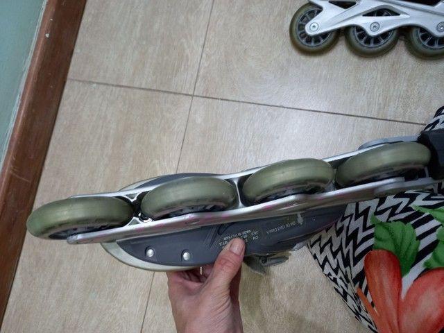 Patins rollerblade novinho - Foto 4