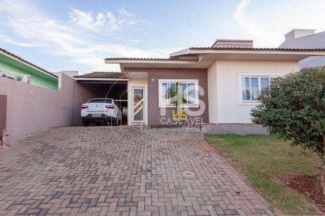 Casa de condomínio à venda com 3 dormitórios em Pacaembu, Cascavel cod:CA0387 - Foto 2