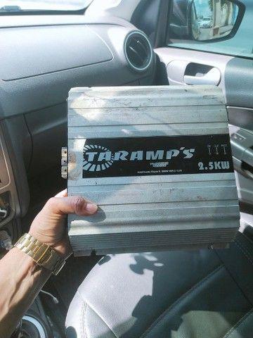 Vendo modulo taramps 2.5 kw Rms por 700 reais