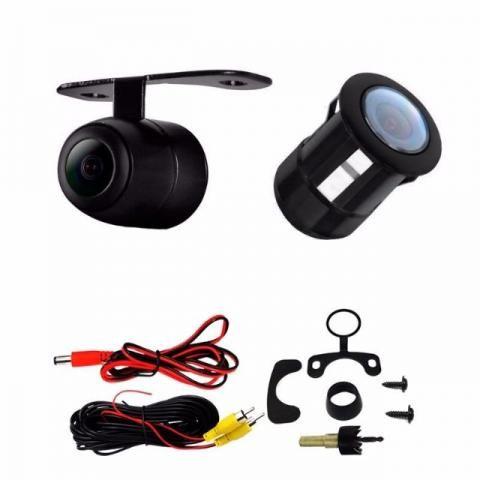 Kit estacionamento Espelho Retrovisor Monitor Tela Lcd 4.3 + Câmera Ré Carro Van Escolar - Foto 3