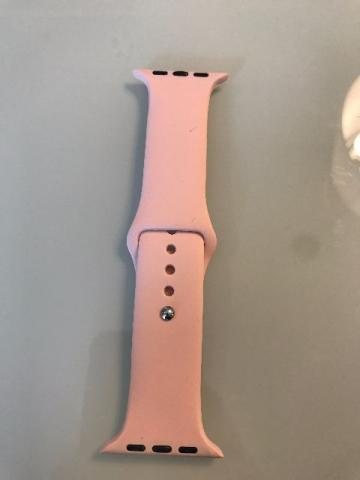 Pulseira Apple Watch 42mm S/M Rosa Claro