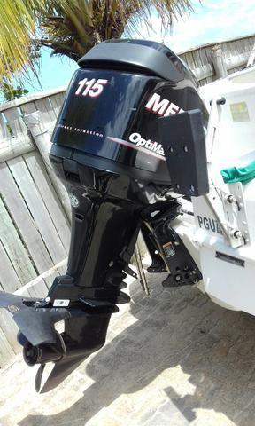 Fishing 185 com mercury 115 hp conjunto 2012 com 220hrs