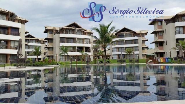 Oportunidade Apartamento no Beach Place vista mar e projetado! Prainha | Porto das Dunas