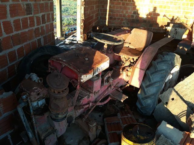 Trator agrale 4100 para reformar - Foto 2